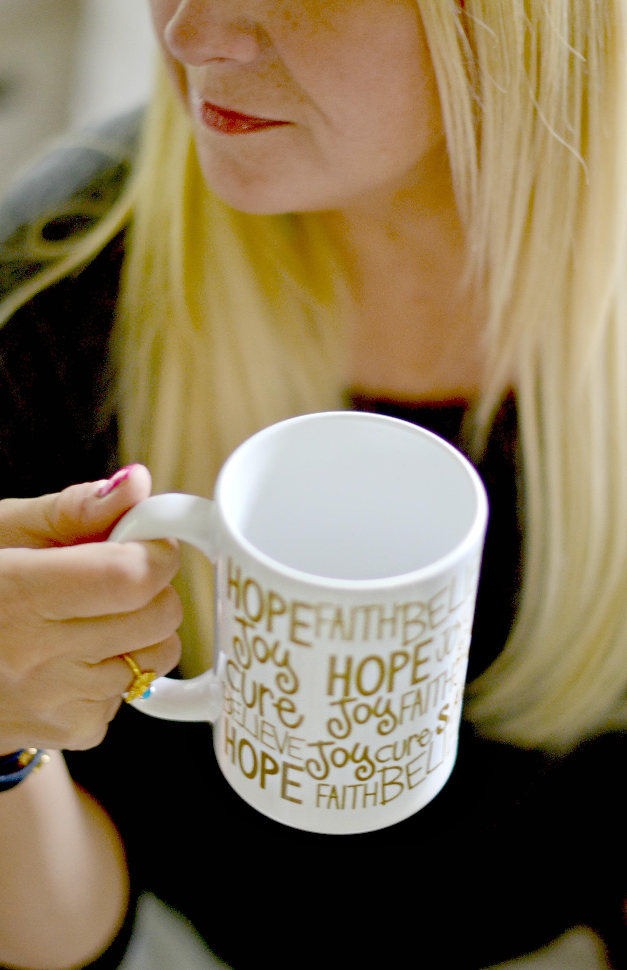 Chic Coffee Mugs that Give Back | GlamKaren.com