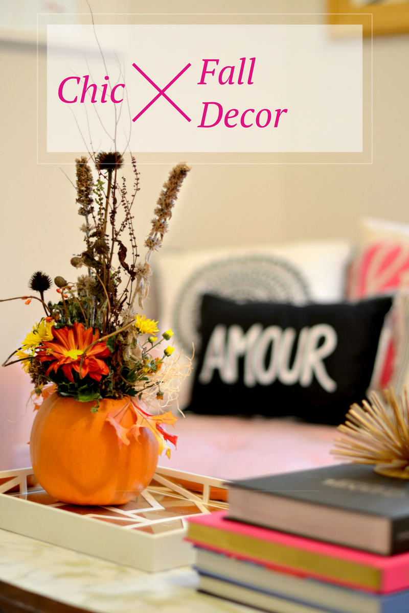 How to Style Your Home with Chic Fall Decor | GlamKaren.com